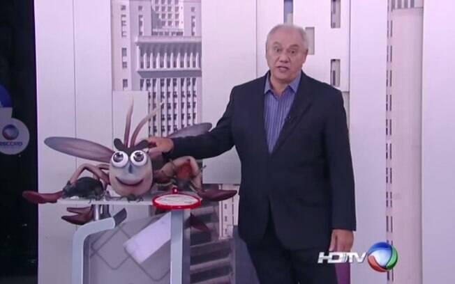 Marcelo Rezende alfineta Globo: 'ficam me assistindo e fazendo igual'