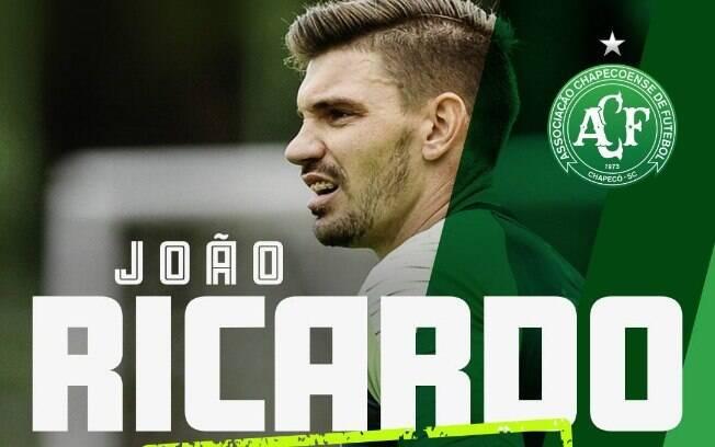 Mercado da bola: Chapecoense contratou o goleiro João Ricardo
