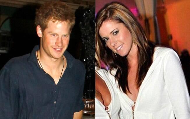 Príncipe Harry e Jessica Donaldson