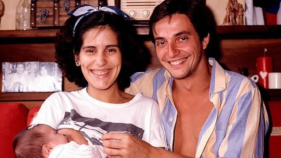 Gloria Pires, Fábio Jr. e Cleo