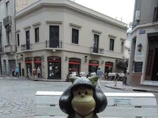A personagem Mafalda, criada por Quino é uma contestadora nata.