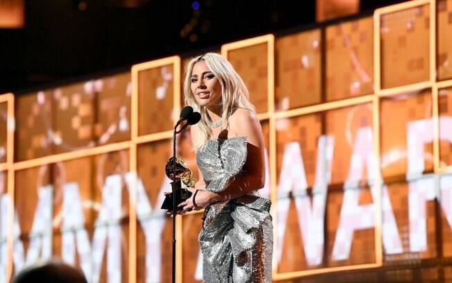 Lady Gaga ganhou três Grammys