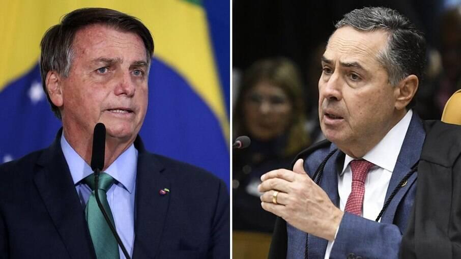 Bolsonaro diz que Barroso