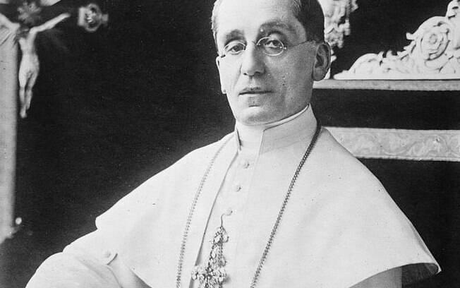 O papa Bento XV morreu com gripe