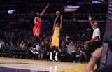 Los Angeles Lakers estreia com vitória sobre o Rockets na era 'pós-Bryant'