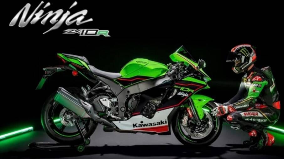 Kawasaki ZX-10R Ninja é lançada na linha 2022; veja todos os detalhes