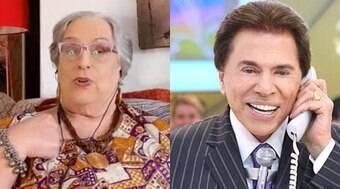 Mamma Bruschetta expõe Silvio Santos na TV e plano é cancelado