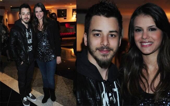 Junior Lima e Raíssa Maciel: namoro firme