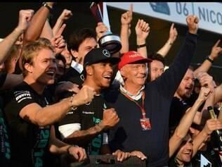 Hamilton venceu o GP da Rússia, realizado no circuito de Sochi, e chegou ao quatro triunfo consecutivo
