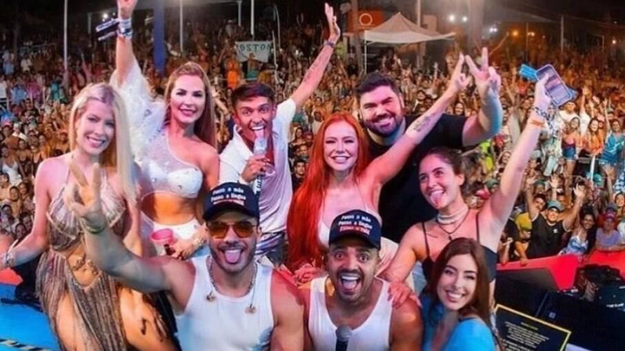 Foto de apresentação de Wesley Safadão em Cancún