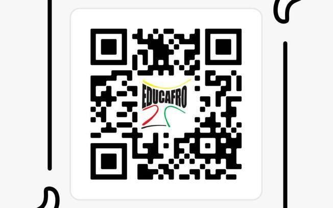 QR Code de curso da Educafro para preparação para IME e ITA