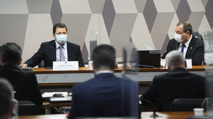 Marcellus Campêlo depõe à CPI da Covid nesta terça-feira (15)