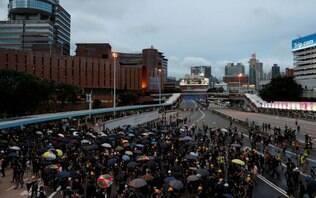 Instabilidade em Hong Kong ameça crescimento econômico, dizem autoridades