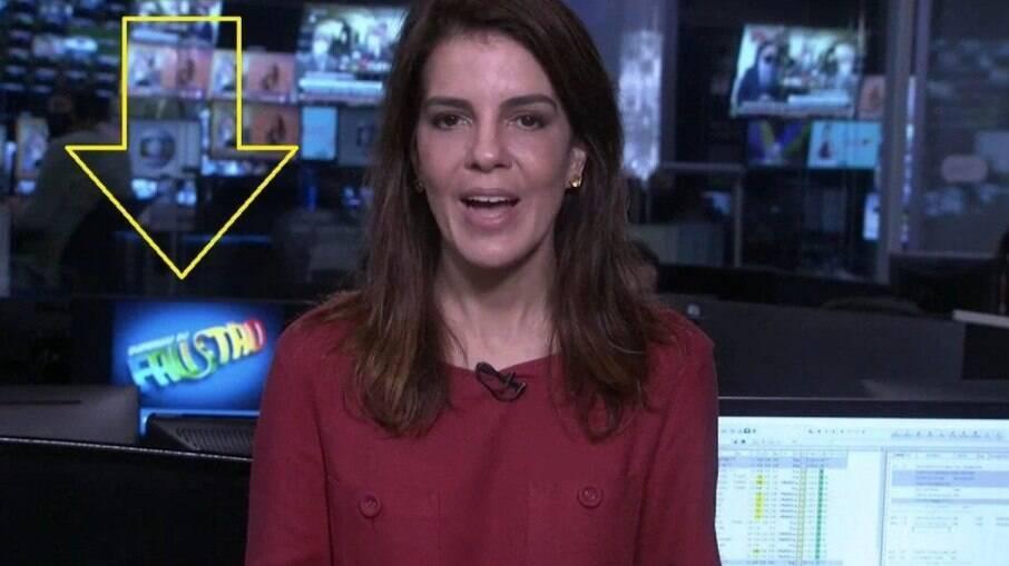 Globo tenta, mas logo do 'Domingão do Faustão' ainda vaza na programação