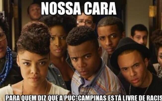Unicamp faz manifestação em prol de aluna que sofreu racismo na Puc Campinas