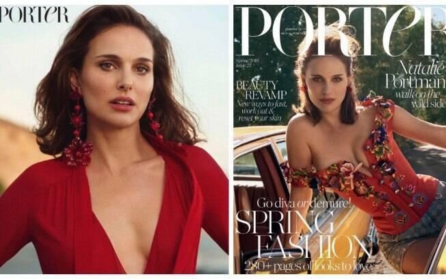 Natalie Portman é capa da Revista Porter e conta sobre os casos de assédio em Hollywood