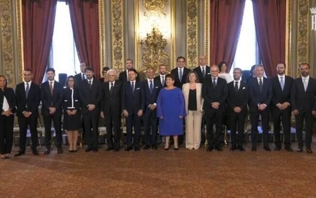 Novos ministros de Giuseppe Conte também tomaram posse nesta quinta