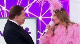 Silvio Santos renova contrato milionário com Claudia Leitte