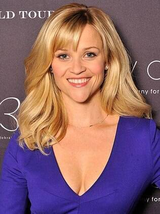 A recém-casada Reese Witherspoon