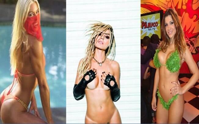 Confira as personagens mais sexys da televisão brasiliera