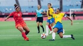 Seleção feminina perde nos pênaltis para o Canadá
