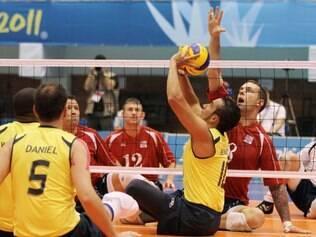 Vice-campeã Mundial, a seleção brasileira de voleibol sentado disputará partida contra equipe 'Geração de Prata'