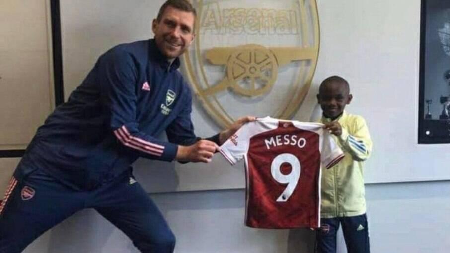 Leo Messo é contratado para as categorias de base do Arsenal