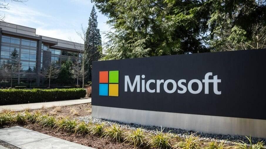 A sede da Microsoft, em Washington, EUA