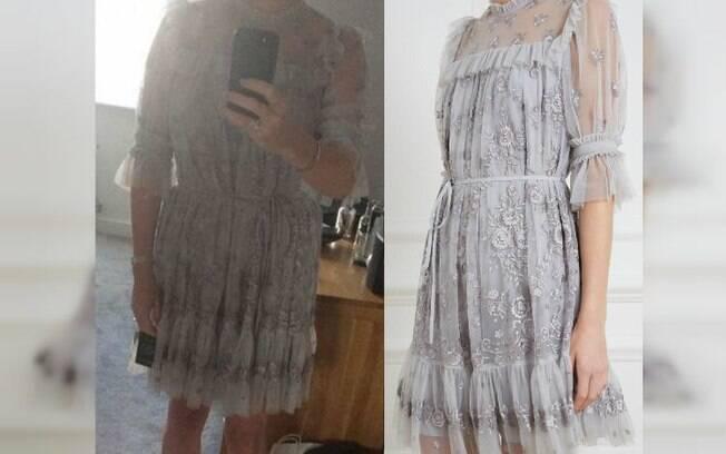 O vestido escolhido pela noiva para ser usado no cartório não agradou a filha e os internautas e recebeu críticas; confira
