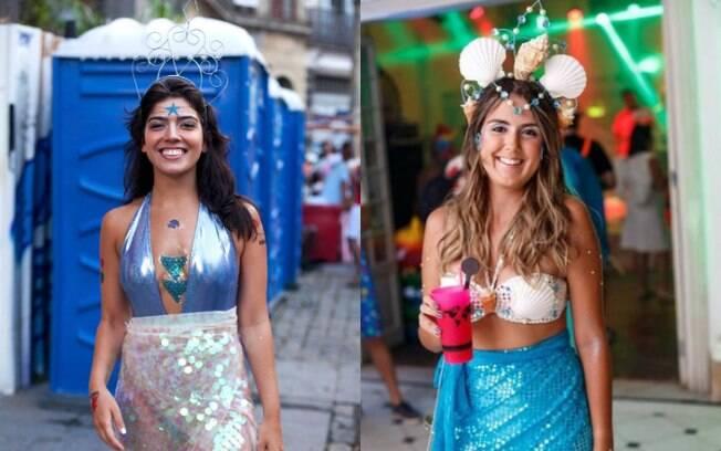 Dá pra ser uma sereia em 2019 sem ser clichê sim, senhora! Basta se inspirar em fantasias de carnaval diferentes