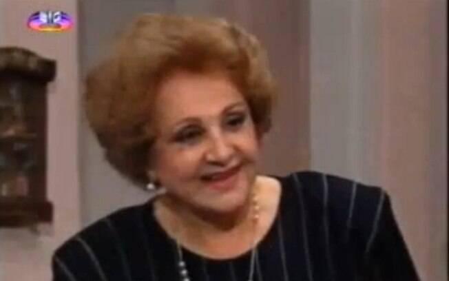 Eva Todor interpretou Calu em 'De Corpo e Alma'