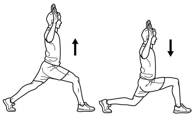 Passo a passo do primeiro exercício de aquecimento para corrida