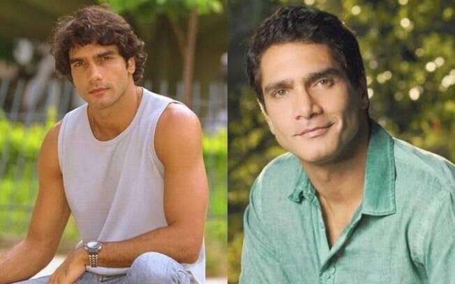 A estreia de Rafael Calomeni na televisão foi vivendo o personagem  Expedito, que fazia par amoroso com a personagem de Susana Vieira.