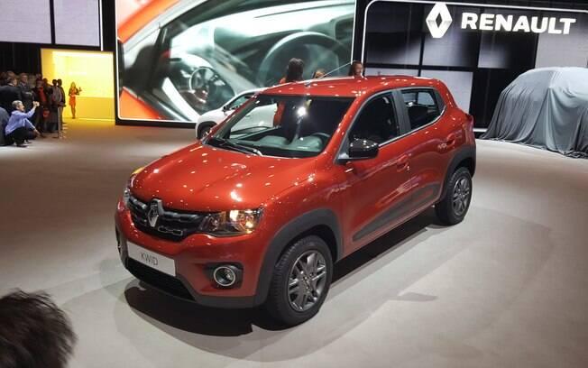Renault Kwid finalmente é apresentado na versão de produção, no Salão de Buenos Aires, na Argentina