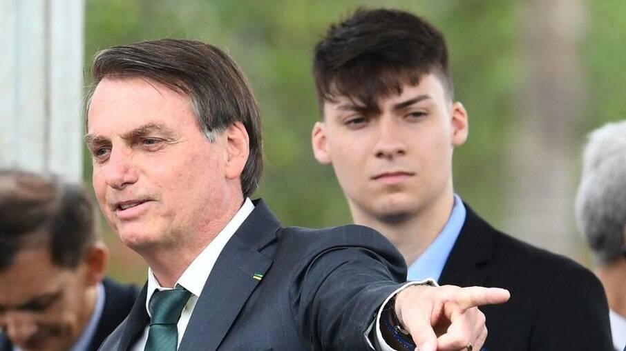 Renan Bolsonaro, filho de Jair Bolsonaro