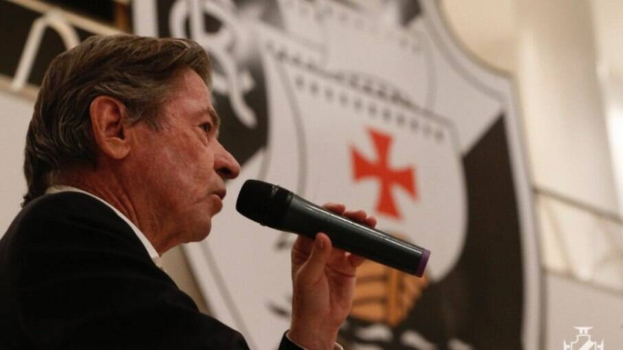 Jorge Salgado, presidente do Vasco