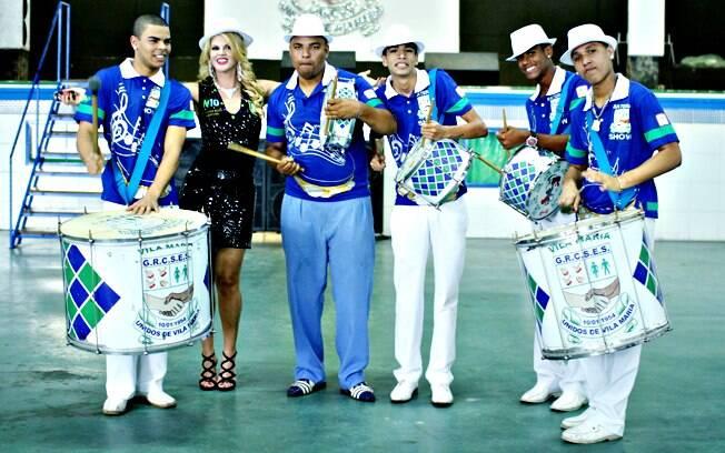 Val foi nomeada embaixadora da escola de samba Unidos de Vila Maria