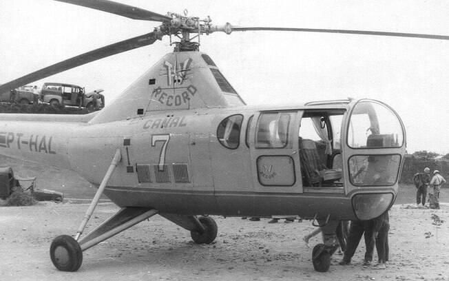 Conheça, qual foi o primeiro helicóptero utilizado para reportagens no Brasil