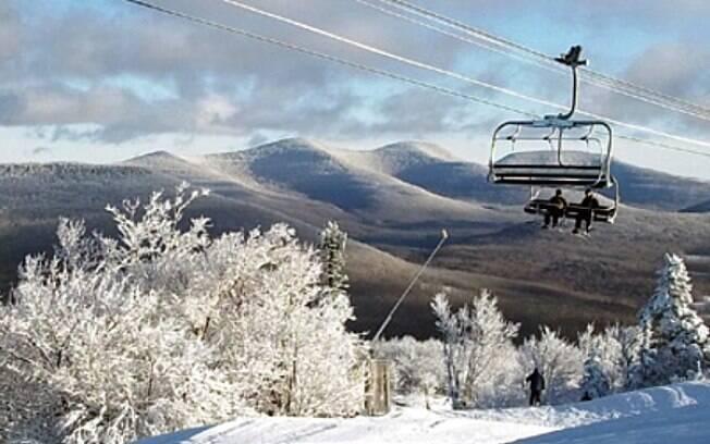 Temporada de inverno no Hunter Mountain é opção certa para quem gosta de esquiar e curtir a neve