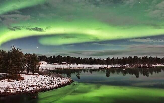 13º. Noruega: com a unidade da moeda do Brasil dá para comprar 2,70 da coroa norueguesa. Foto: ©Andy Keen/www.aurorahunters.com