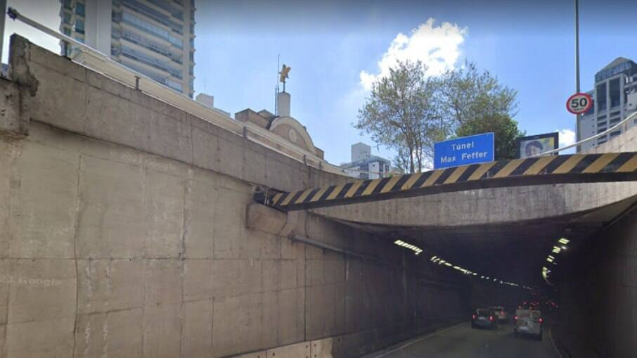 Túnel Max Feffer será interditado na noite desta sexta-feira (8)