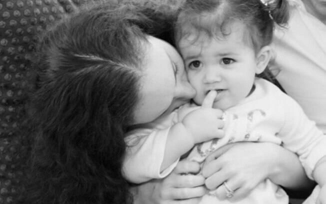 Em relato, Dani Sherman conta que fica triste quando alguém fala que sua filha de dois anos sofre de obesidade infantil