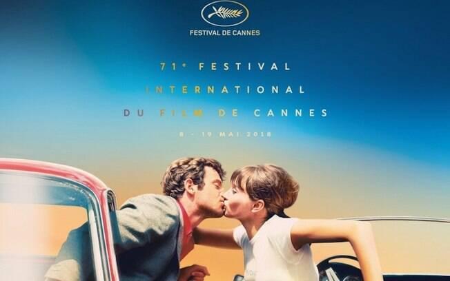 Festival de Cannes divulga filmes da programação, com destaque para Godard, que inspira o pôster da edição