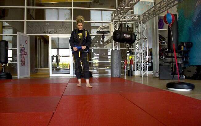Nair começou no krav magá, passou pelo muai thay e se apaixonou pelo jiu-jitsu