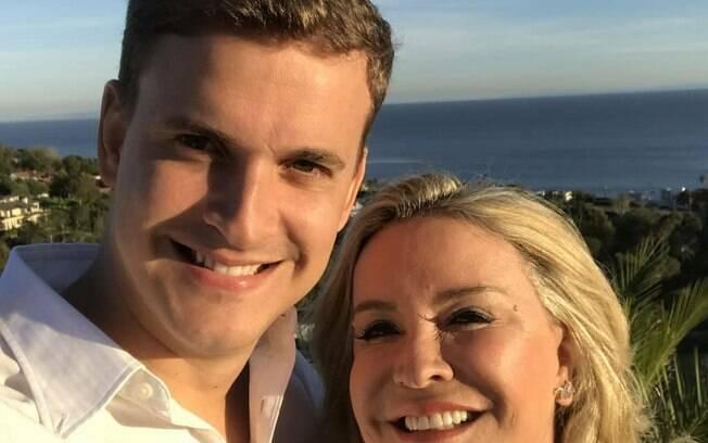 Claudia Leitte e irmão