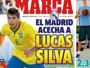 Jornal Marca dá destaque para a informação de que o Real estaria interessado no volante