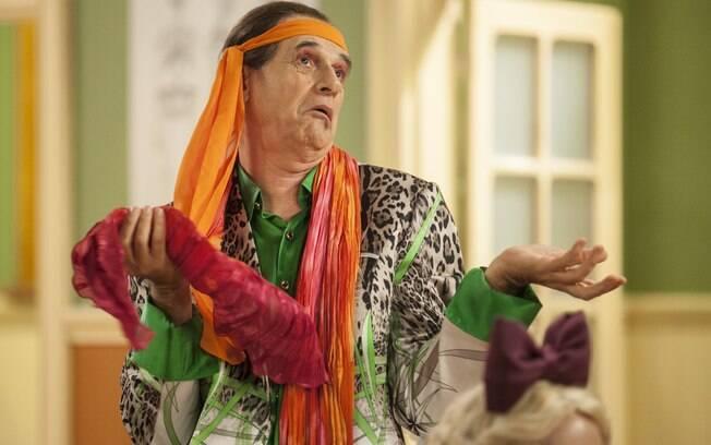 Marcos Caruso é responsável por interpretar o estereotipado Seu Peru