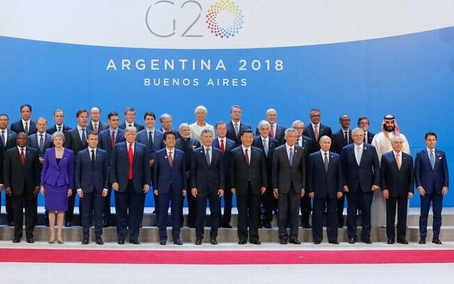 Chefes de Estado das 20 maiores economias do mundo se reuniram no Encontro do G20, em Buenos Aires