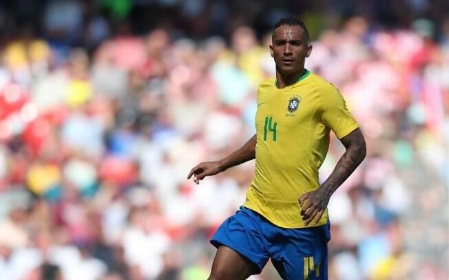 Danilo esteve na Copa do Mundo na Rússia em 2018