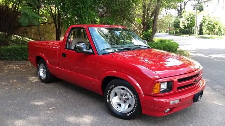 Chevrolet S10 SS: a picape que foi sonho de consumo nos ...